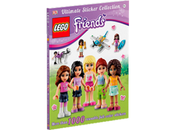 9325499 Friends Ultimate Sticker Collection