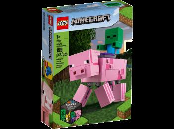 21157 BIGFIG PIG WITH BABY ZOMBIE