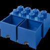 40061731 LEGO Storage Drawer 2 x 4 - Blue