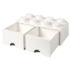 40061735 LEGO Storage Drawer 2 x 4 - White