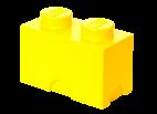 40021732 LEGO Storage Brick 1 x 2 - Yellow