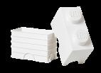 40021735 LEGO Storage Brick 1 x 2 - White