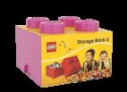 40031739 LEGO Storage Brick 2 x 2 - Medium Pink (Bright Purple)