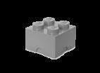 40031740 LEGO Storage Brick 2 x 2 - Medium Stone Grey