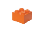 40031760 LEGO Storage Brick 2 x 2 - Orange