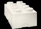 40041735 LEGO Storage Brick 2 x 4 - White