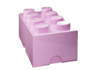40041738 LEGO Storage Brick 2 x 4 - Light Pink