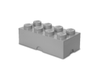40041740 LEGO Storage Brick 2 x 4 - Medium Stone Grey