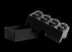 40231733 LEGO Lunch Box 2 x 4 - Black