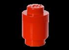40301730 LEGO Storage Brick 1 Round - Red