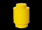 40301732 LEGO Storage Brick 1 Round - Yellow