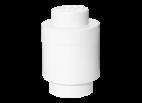 40301735 LEGO Storage Brick 1 Round - White