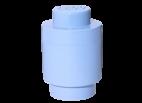 40301736 LEGO Storage Brick 1 Round - Light Blue