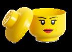 40321725 LEGO Storage Head Large, Girl