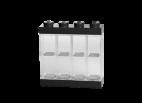 40650003 Minifigure Display Case 8 MF - Black