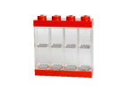 40650001 Minifigure Display Case 8 MF - Red