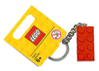 4638307 Keychain 2 x 4 Stud Red