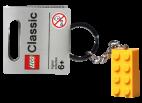 4638311 Keychain 2 x 4 Stud Yellow