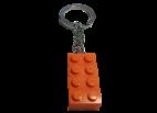 4638313 Keychain 2 x 4 Stud Orange