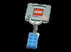 4638318 Keychain 2 x 4 Stud Light Blue