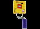 6000116 Keychain 2x4 Stud Purple