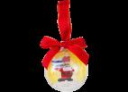 6047303 Holiday Bauble - Santa Claus