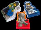 6077628 LEGO® Minifigure Notebooks