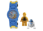 9001208 LEGO Star Wars C-3PO and R2-D2 watch bundle with minifigure