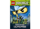 9313991 Ninjago 2 in 1 Ninja Handbook - Farm of Fear