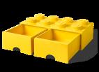40061732 LEGO Storage Drawer 2 x 4 - Yellow